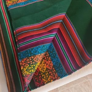 Vintage Accents - Vintage Hand woven south american linen